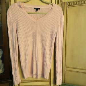 Previously Loved Light Pink Tommy Hilfiger Sweater